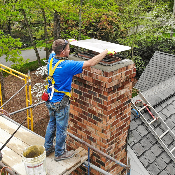 Chimney chase cover installations in richmond va